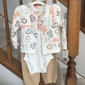 🎉HP🎉NWT Carter's baby toddler bodysuit set